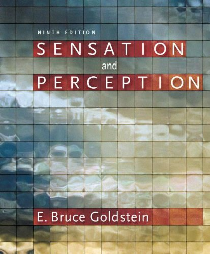 Sensation and Perception (With Psychology Coursemate With Ebook Printed Access Card):  9th 2013 9781133958499 Front Cover