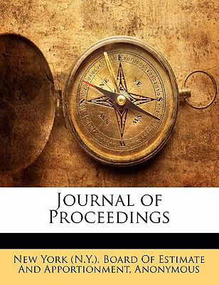 Journal of Proceedings N/A edition cover