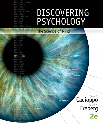 Discovering Psychology The Science of Mind 2nd 2016 9781305630499 Front Cover
