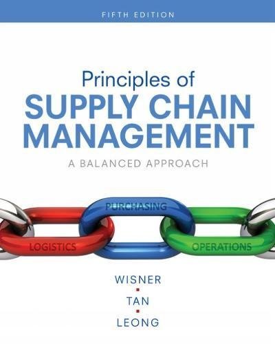 Principles of Supply Chain Management: A Balanced Approach  2018 9781337406499 Front Cover