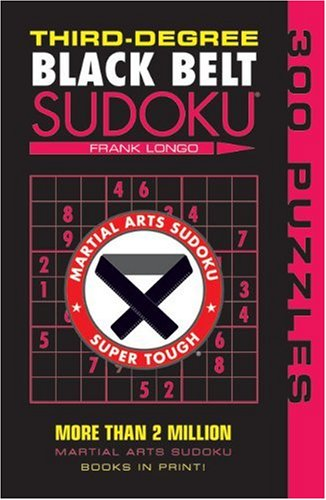 Third-Degree Black Belt Sudoku   2009 9781402746499 Front Cover