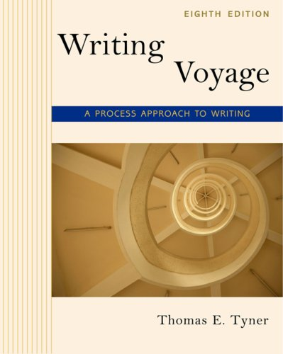 Writing Voyage A Process Approach to Writing 8th 2008 (Revised) edition cover