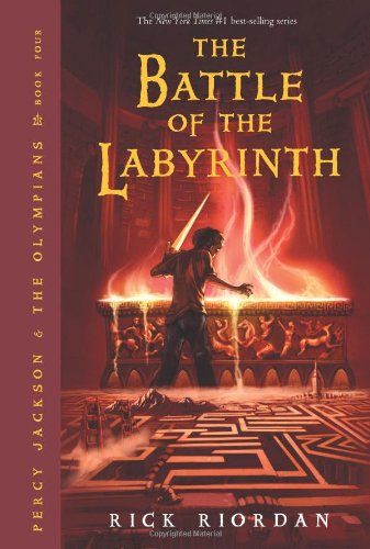 Battle of the Labyrinth   2008 9781423101499 Front Cover