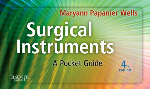 Surgical Instruments A Pocket Guide 4th 2011 9781437722499 Front Cover