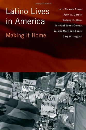 Latino Lives in America Making It Home  2010 edition cover