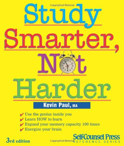 Study Smarter, Not Harder  3rd 2010 edition cover