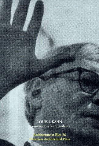 Louis Kahn Conversations with Students N/A edition cover
