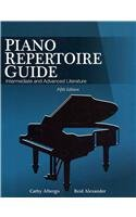 Piano Repertoire Guide: Intermediate and Advanced Literature  2011 edition cover