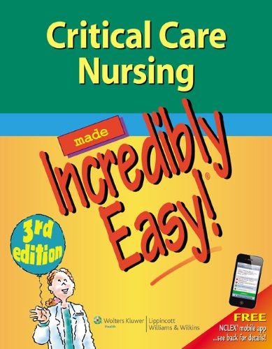 Critical Care Nursing  3rd 2012 (Revised) 9781609136499 Front Cover
