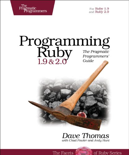 Programming Ruby 1.9 & 2.0: The Pragmatic Programmers' Guide  2013 edition cover