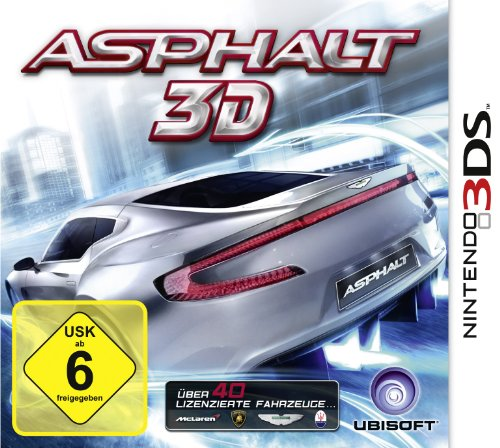 Asphalt 3D Nintendo 3DS artwork
