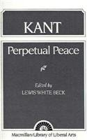 Kant Perpetual Peace  1957 edition cover
