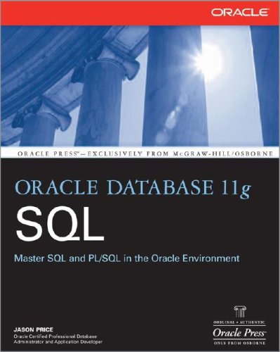 Oracle Database 11g SQL   2008 9780071498500 Front Cover