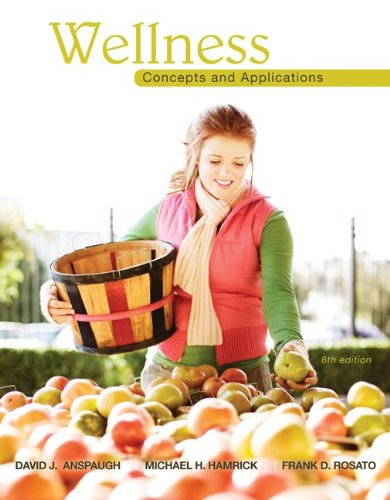 Wellness Concepts and Applications 8th 2011 edition cover