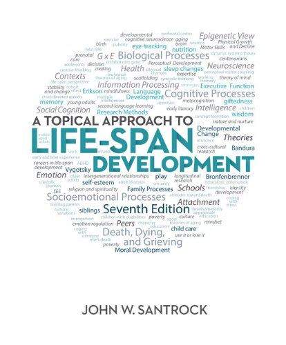 A Topical Approach to Lifespan Development:   2013 edition cover