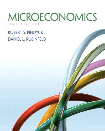 Microeconomics  8th 2013 edition cover