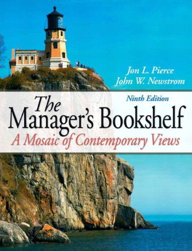Manager's Bookshelf  9th 2011 (Revised) edition cover