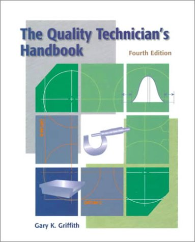 Quality Technicians Handbook  4th 2000 edition cover