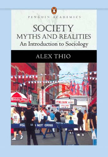 Society Myths and Realities, an Introduction to Sociology (Penguin Academics Series)  2007 edition cover