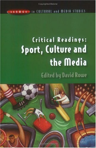 Critical Readings Sport, Culture and the Media  2003 edition cover