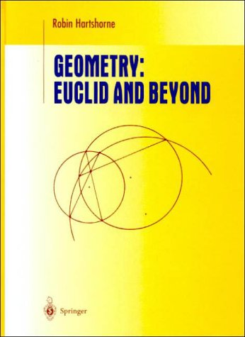 Geometry Euclid and Beyond  2000 edition cover