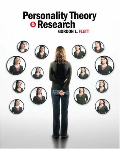 Personality Theory and Research An International Perspective  2008 edition cover