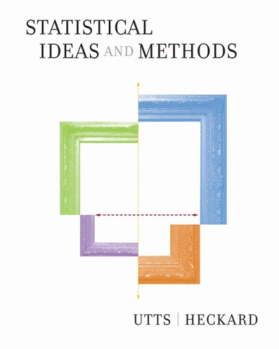 Statistical Ideas and Methods (with CD-ROM and Internet Companion for Statistics)   2006 edition cover