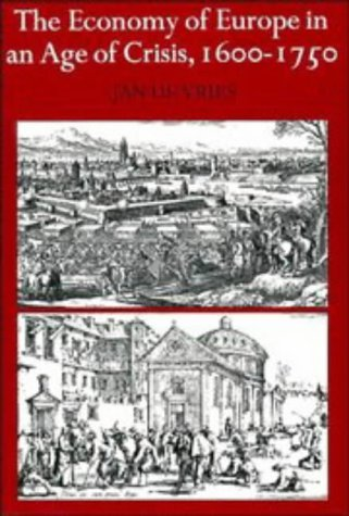 Economy of Europe in an Age of Crisis, 1600-1750   1976 edition cover