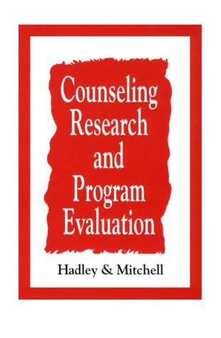 Counseling Research and Program Evaluation   1995 edition cover