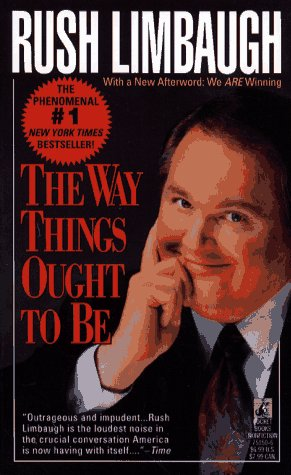 Way Things Ought to Be  Reprint 9780671751500 Front Cover