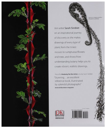 Botany for the Artist An Inspirational Guide to Drawing Plants N/A 9780756652500 Front Cover