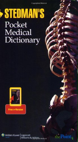 Stedman's Pocket Medical Dictionary   2009 edition cover