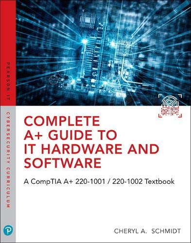 Complete a+ Guide to IT Hardware and Software  8th 2020 9780789760500 Front Cover