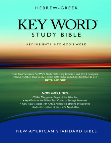 Key Word Study Bible NASB  3rd (Expanded) edition cover