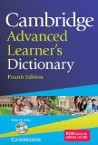 CAMBRIDGE ADVANCED LEARNER'S DICTIONARY WITH CD-ROM 4TH EDITION  4th 2013 edition cover