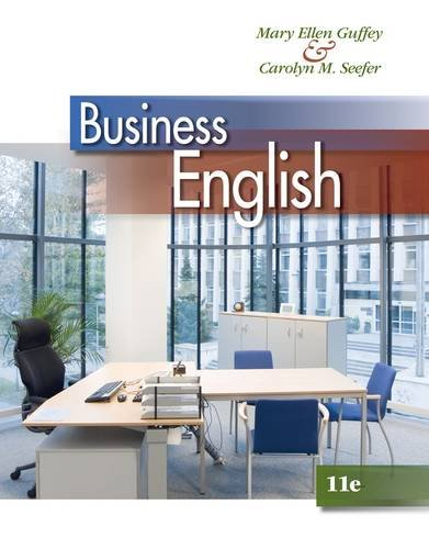 Business English  11th 2014 9781133627500 Front Cover