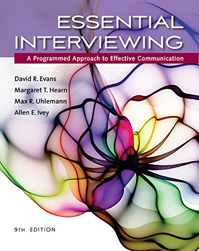 Essential Interviewing: A Programmed Approach to Effective Communication  2016 9781305271500 Front Cover