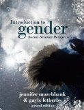 Introduction to Gender  2nd 2014 (Revised) edition cover