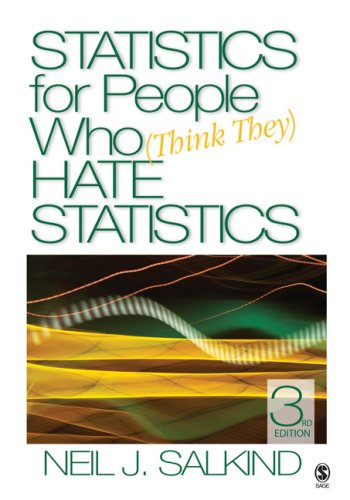 Statistics for People Who (Think They) Hate Statistics  3rd 2008 edition cover