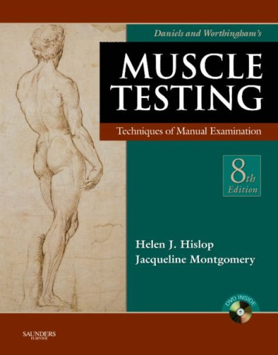 Daniels and Worthingham's Muscle Testing Techniques of Manual Examination 8th 2007 (Revised) edition cover