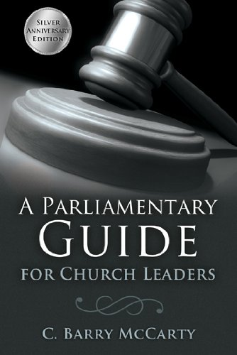 Parlimentary Guide for Church Leaders   2012 edition cover