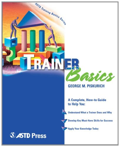 Trainer Basics   2003 edition cover