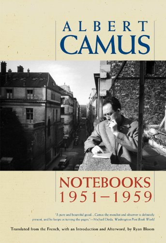 Notebooks 1951-1959  N/A edition cover