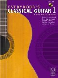 EVERYBODY'S CLASSICAL GUITAR 1-W/CD     N/A edition cover