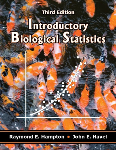 Introductory Biological Statistics:   2013 edition cover