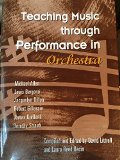Teaching Music Through Performance in Orchestra 1st 2001 edition cover