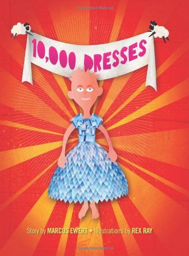 10,000 Dresses   2008 edition cover