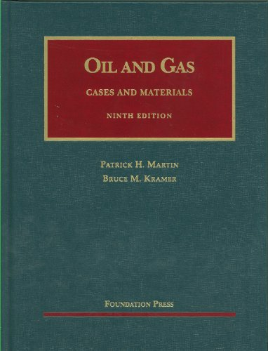 Oil and Gas  9th 2011 (Revised) edition cover