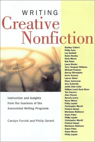 Writing Creative Nonfiction   2001 edition cover