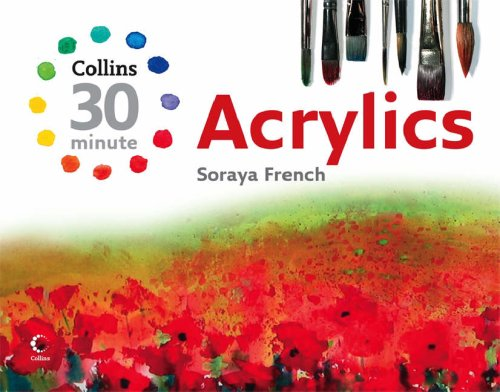 Collins 30-minute Acrylics  2007 edition cover